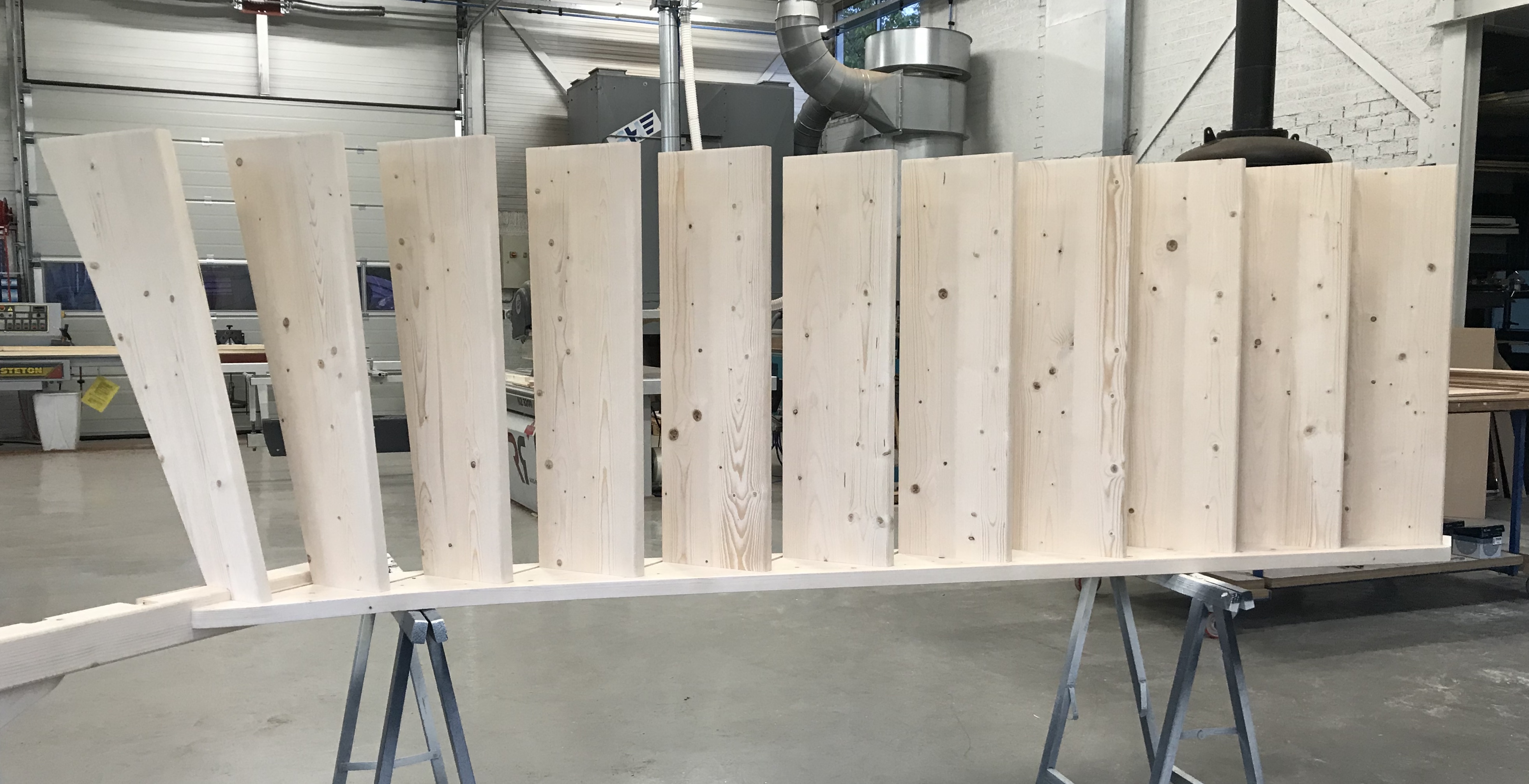 houten trapboom